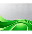 green liquid background vector image vector image