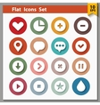 Web and interface icons collection vector image