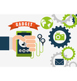 technology gadget design vector image