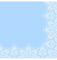 decorative corner border vector image