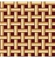 golden fabric tiles vector image vector image