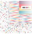 big data visualization analysis of information vector image