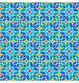 floral moroccan mosaic pattern vector image