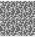 Abstract grayscale pixel background seamless vector image