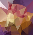 purple pink yellow abstract polygon triangular vector image