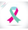 Thyroid cancer awareness vector image