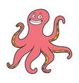 Cute octopus vector image