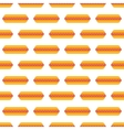 Hot dog pattern seamless vector image
