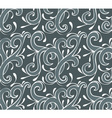 pattern black vector image vector image