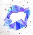 Abstract geometric mosaic ring vector image