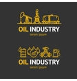 Oil Industry Corporate Sign Concept vector image