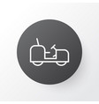 tractor icon symbol premium quality isolated vector image