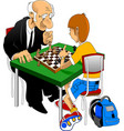 chess championship vector image vector image