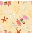 Starfish background pattern vector image