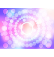 Abstract colorful soft focus background vector image vector image