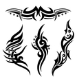 Tribals Tattoos vector image