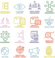 Customer Relationship Management Icons - part 3 vector image