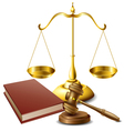 Law related object set vector image