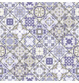 abstract patterns in the mosaic set vector image