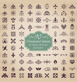 ornamental elements for design and page decoration vector image