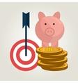 finance concept design vector image