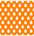 Orange White Water Drops Background vector image
