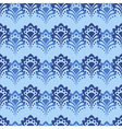 Seamless Blue flowers vector image