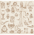 Vintage Doodle Elements vector image