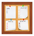 todo list and check list vector image