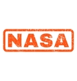 Nasa Rubber Stamp vector image