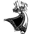 Norse God Loki vector image vector image