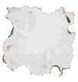 burnt paper vector image vector image