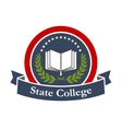 State college university high school icon vector image