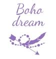 Boho Dream vector image