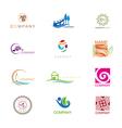 Logo Design Collection vector image vector image