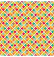 Bright retro seamless pattern vector image