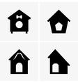 Dog Houses vector image