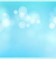 light blue background water summer bokeh vector image