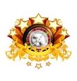Roulette insignia vector image