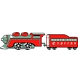 North pole express vector image vector image
