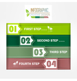Infographic creative design vector image vector image