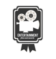entertainment concept design vector image