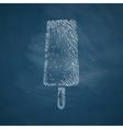 ice icon vector image
