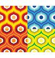 Scandinavian retro pattern vector image