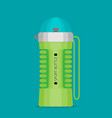 water bottle flat design - eps 10 vector image