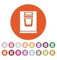 The coffee machine icon Espresso and latte symbol vector image