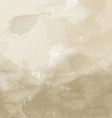 old paper watercolor background vector image