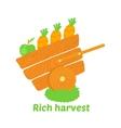 Rich harvest vector image