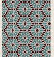 seamless islamic moroccan pattern arabic vector image vector image