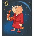 Zodiac Signs Cancer Cartoon vector image